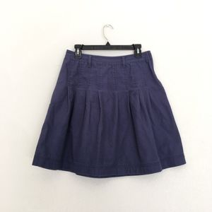 Old Navy Dark Blue Pleated Summer Skirt